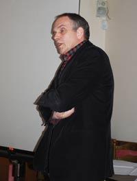 Wim Arts machte sich in Straelen Gedanken über alternative Rohstoffe für die Champignon-Produktion.
