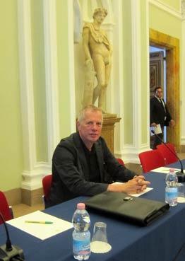 Michael Böging vertrat die Interessen des BDC bei der GEPC-Tagung in einem alten Palais in Rom