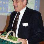 Ein Körbchen frischer Champignons ist auch bei Wim Arts ein willkommenes Dankeschön
