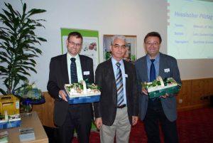 Charmanter Repräsentant des BDC mit Visionen und Durchsetzungsvermögen – das ist Franz Schmaus wie ihn seine Kollegen kennen und schätzen, hier gemeinsam mit Michael Legrand (links) und Ulrich Groos (rechts)