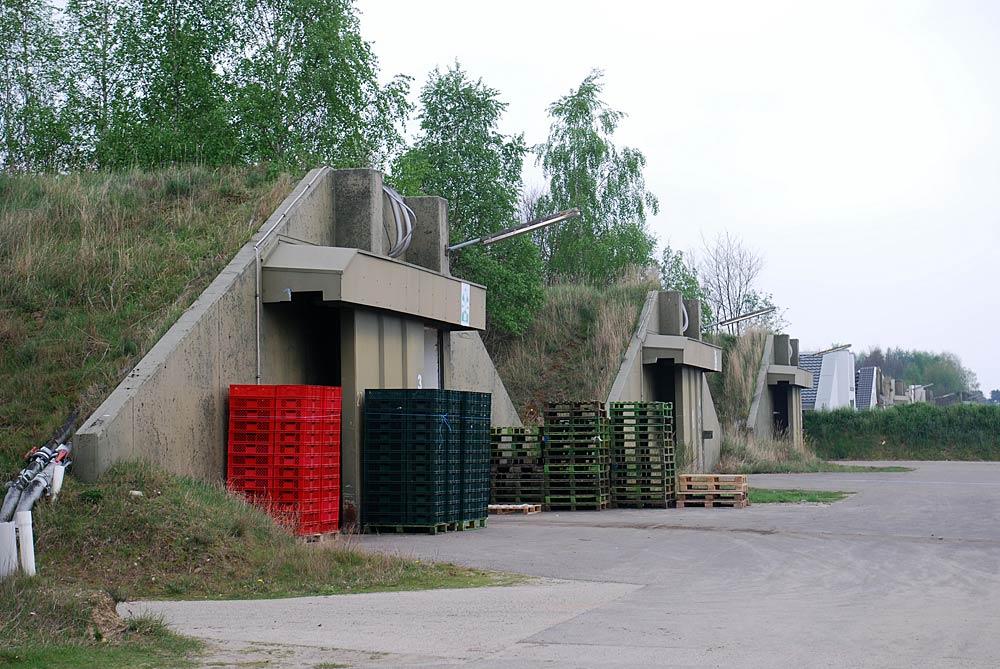 Die Anlage in den alten Munitionsbunkern ist weitläufig