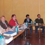 Unter der Leitung des BDC-Vorsitzenden Michael Schattenberg, links, wurde auf der Vorstandssitzung intensiv über die wichtigen Themen für deutsche Pilzerzeuger beraten.