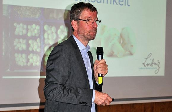 Dr. Martin Geyer berichtete über eine schwierige Aufgabe