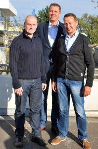 Anlässlich der 66. Jahrestagung des Bundes Deutscher Champignon- und Kulturpilzanbauer e.V. (BDC) Anfang Oktober in Rostock-Warnemünde wurden neue Mitglieder für den BDC-Beirat gewählt (von links): Alfred Everts, Christian Vogt, Andreas Wohlers.