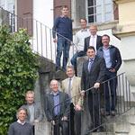 Der Vorstand des VSP, von oben nach unten: Cédric Stadler, Hans Zürcher, Patrick Romanens, Daniel Sutter Präsident, Roland Vonarburg, Sepp Häcki (Austritt), Fritz Burkhalter Sekretär, Fabian Schneebeli neu, Alex Lussi neu (es fehlt Patrick Häcki).