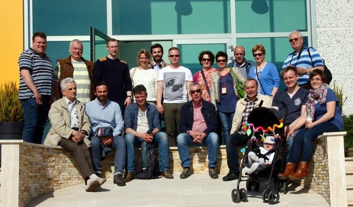 Gutes Wetter und gute Stimmung – das Programm in Italien begeisterte auch die jüngsten Pilzanbauer aus Deutschland