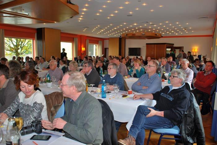 Volles Haus in Straelen – der Hessische Pilz Tag war sehr gut besucht.
