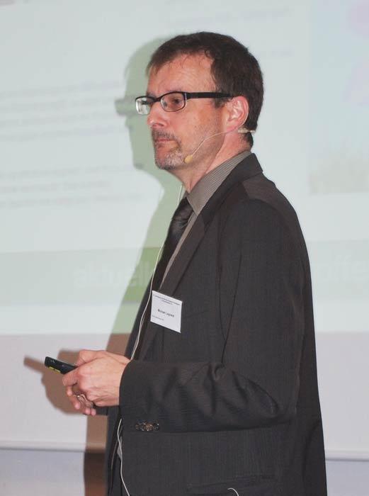 Michael Legrand konnte in Potsdam über sehr viele positive Aktivitäten aus dem Bereich der Öffentlichkeitsarbeit des BDC berichten.