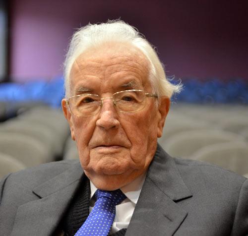 Professor Dr. Sándor Balázs war weit über Ungarn hinaus für sein Engagement bekannt.