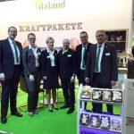 Das Pilzland-Team am Stand in Berlin.