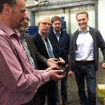 Niedersachsen: Champostfragen im Betrieb Dohme erörtert