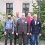 Der BDC-Vorstand von links nach rechts: Max Dohme, Dr. Torben Kruse, Michael Schattenberg, Marko Deckers und Michael Böging