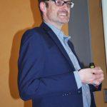 Michael Legrand berichtete in Hannover über die erfolgreiche Öffentlichkeitsarbeit des BDC.