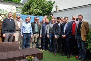 Mit 18 Personen tagten Vorstand und Beirat des BDC Anfang dieser Woche in Hannover.