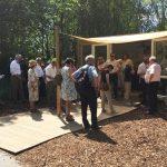 Ernährungsausschuss Bundestag besucht Pilzpavillon auf der IGA