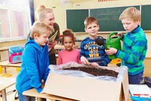 Die Schulpilzaktion des BDC begeistert Kinder und Lehrer gleichermaßen.