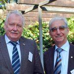 Der aktuelle BDC-Vorsitzende Michael Schattenberg, rechts, und sein Vorgänger Franz Schmaus.