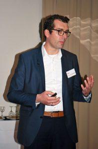 Prof. Dr. Martin Rühl schaffte es auch in Bad Zwischenahn, seinen Zuhörer mit den neuesten Erkenntnissen aus der Pilzforschung in seinen Bann zu ziehen.