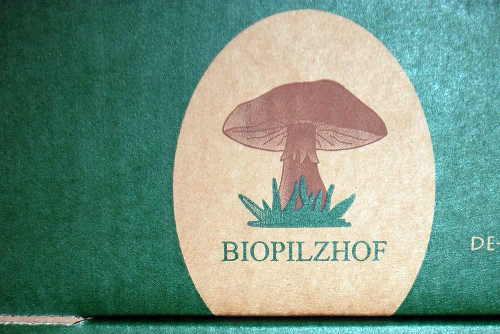 Pappkisten für die Vermarktung im Bio-Bereich.