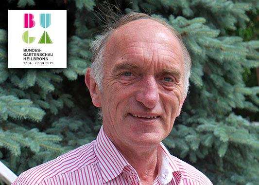 Peter Marseille engagiert sich als offizieller Pilzbotschafter des BDC für die BUGA 2019 in Heilbronn.