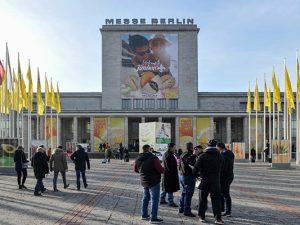 Besucher und Aussteller aus der ganzen Welt trafen sich Anfang Februar in Berlin. Bild: Messe Berlin.
