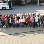 Junge Gemüsegärtner aus drei Ländern trafen sich zur gemeinsamen Besichtigungen und zum Erfahrungsaustausch in Südhessen.